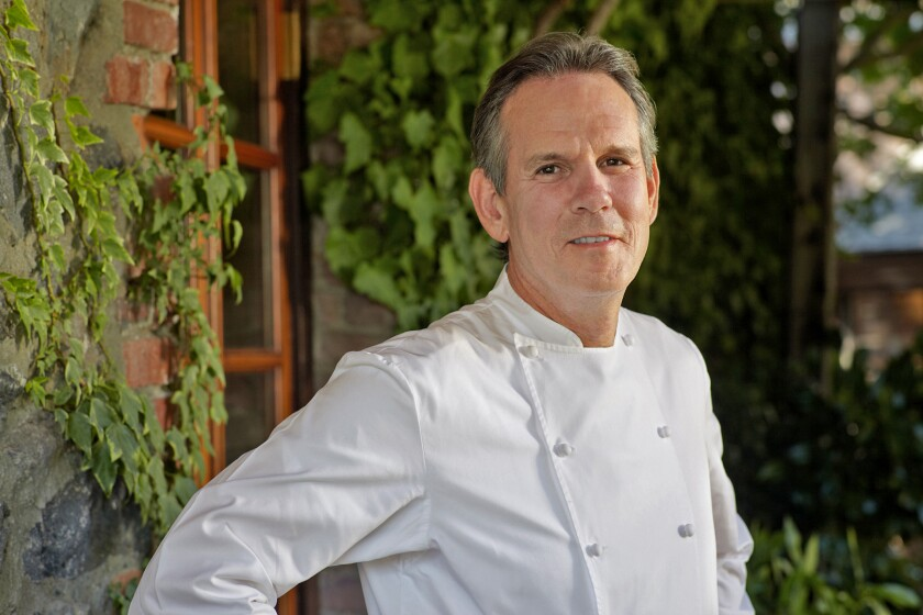 Thomas Keller, chef at the French Laundry in Yountville.
