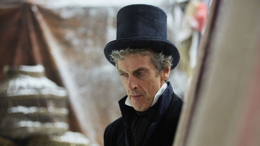 """A London Fair in 1814 turns deadly on a new episode of BBC America's """"Dr. Who,"""" starring Peter Capaldi."""