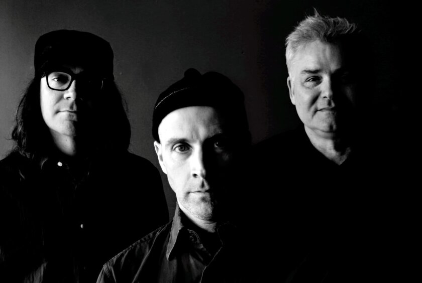The Messthetics, which features two co-founders of Fugazi, specializes in making intense, vocal-free music. The band's members are, from left, Anthony Pirog, Joe Lally and Brendan Canty.