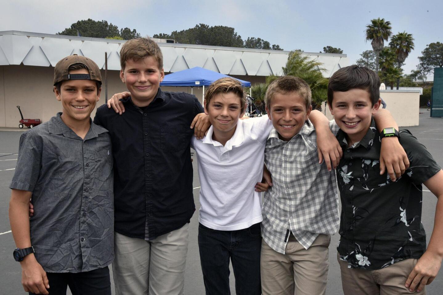 Nic, Jack, Santiago, Emanuele, Waylon