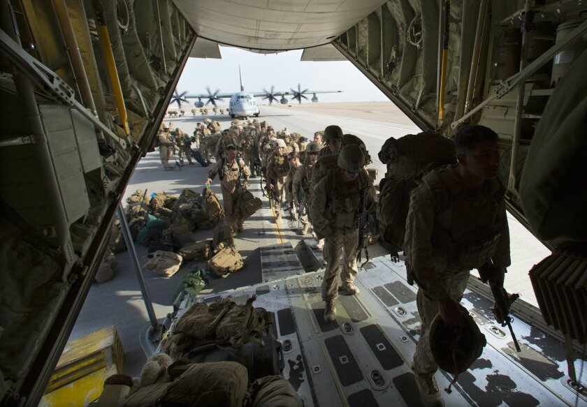 The Marines in Helmand