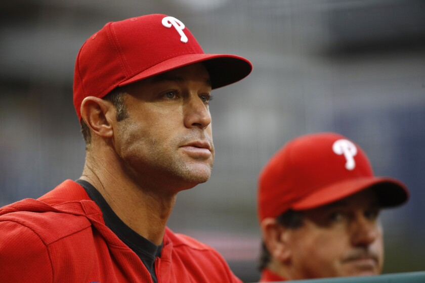 Gabe Kapler was fired by the Philadelphia Phillies on Thursday, nearly two weeks after the end of his second season as the team's manager.