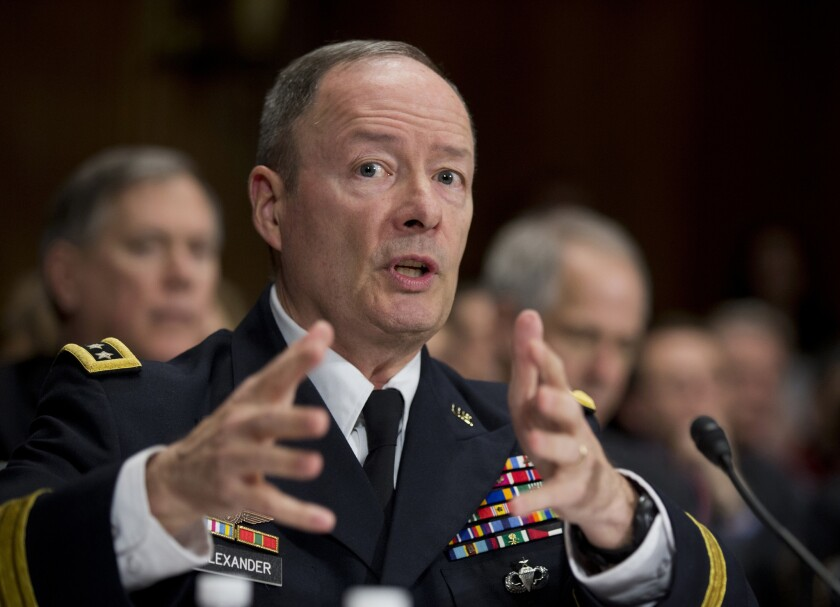 Gen. Keith Alexander plans to retire soon as director of the National Security Agency and head of the Pentagon¿s Cyber Command.