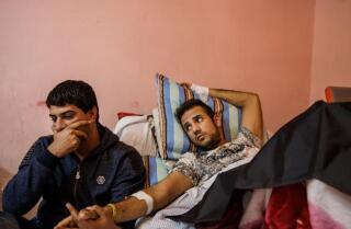 Bomb defusers in Mosul