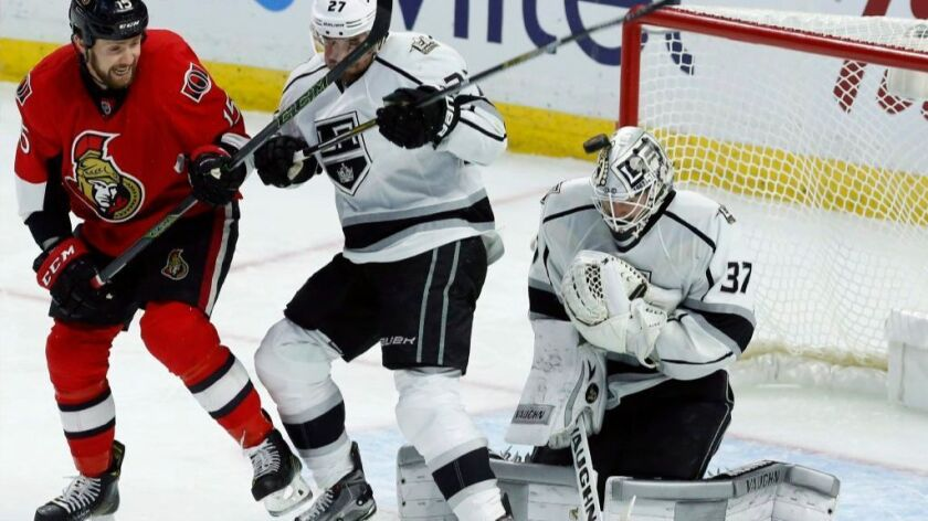 Kings lose a heart breaker, 2-1, as the Senators strike twice in the third