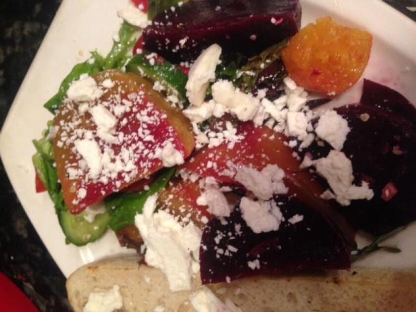 Summer Burrata and Beet Salad