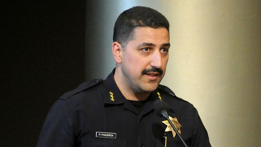 Asst. Police Chief Paul Figueroa will now serve as acting chief.