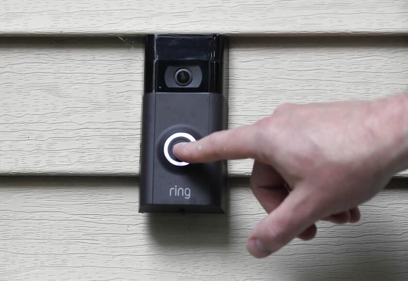 Amazon Police Doorbell Cameras