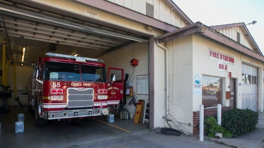 Station 5 in Chula Vistat use to be a Montgomery Fire Protection District station until it was annexed by Chula Vista in the 1980's.