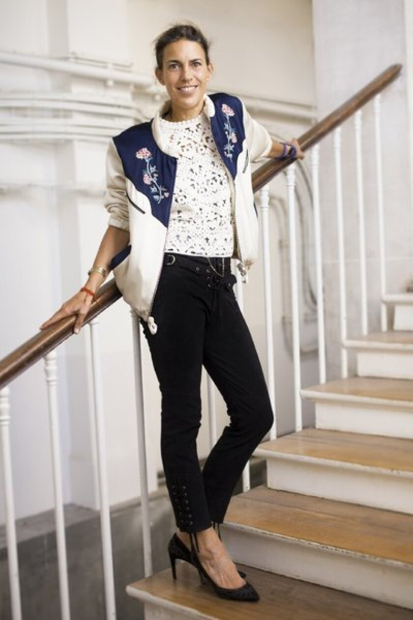 French fashion designer Isabel Marant is teaming up with H&M; on a collection hitting stores Nov. 14.