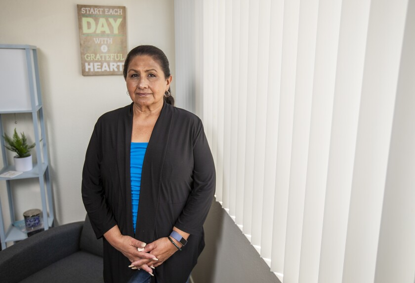 Dolores Canales co-founded the group California Families Against Solitary Confinement.