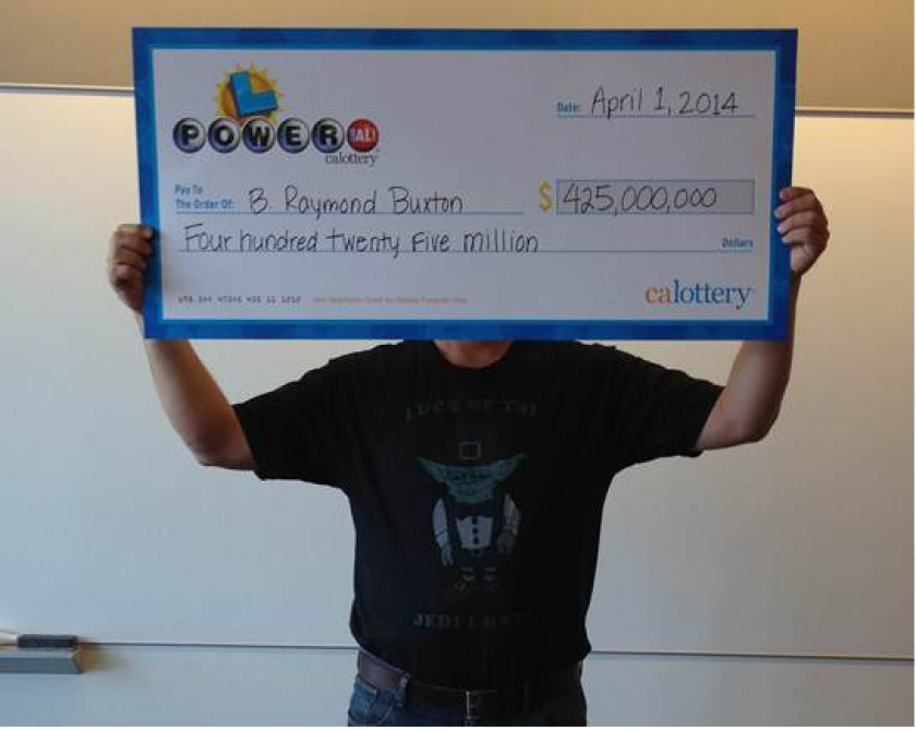 A Northern California man who won the $425.3-million February Powerball jackpot chose April Fool's Day to come forward to claim his prize, California Lottery officials said Tuesday.