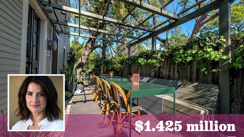 "Actress Cobie Smulders of ""How I Met Your Mother"" fame has sold an investment property in the Los Feliz area to comedian Demetri Martin for $1.425 million."