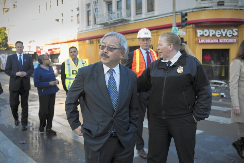 "San Francisco Mayor Ed Lee wants the economic boom to help ""those who have suffered most."""