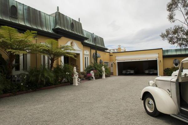 'Behind the Candelbra': The Vegas house