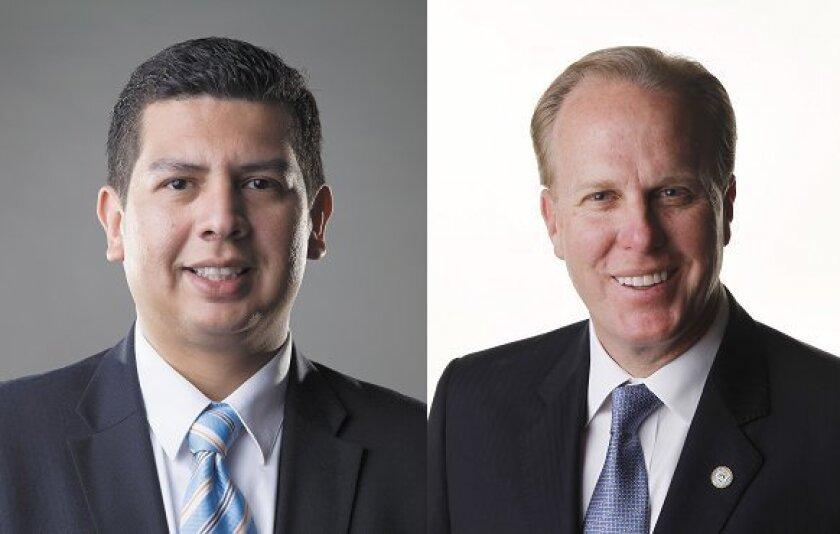 David Alvarez and Kevin Faulconer