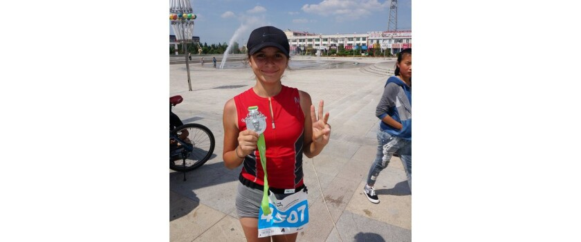 Blanca Ramirez of La Puente, 12, has raced in Rwanda and China as part of her goal to become the youngest person to run seven marathons on seven continents.