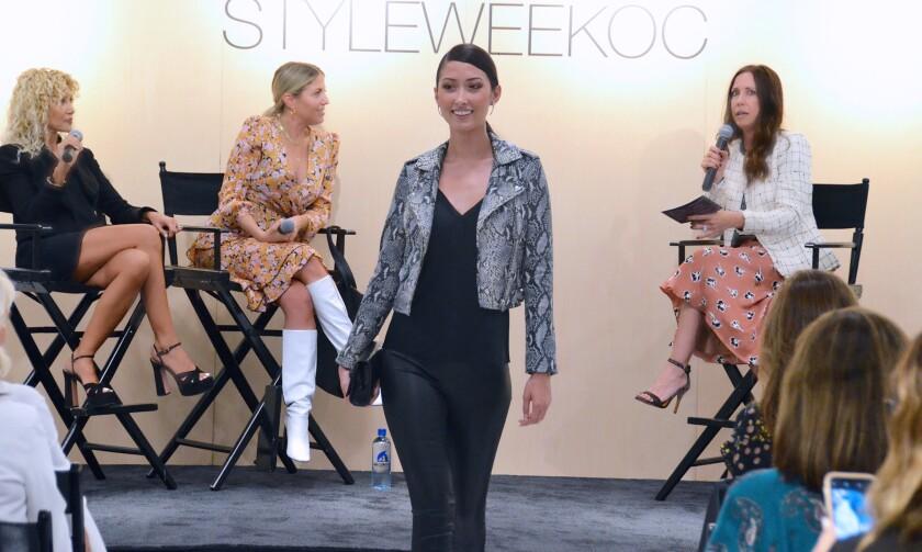 StyleWeekOC fashion show 8