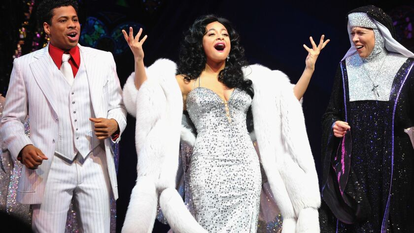 """Raven-Symone Makes Her Broadway Debut In """"Sister Act"""" - Curtain Call"""