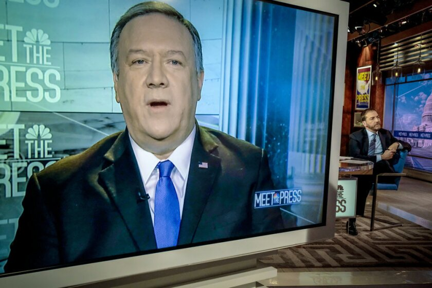 Mike Pompeo on 'Meet the Press'
