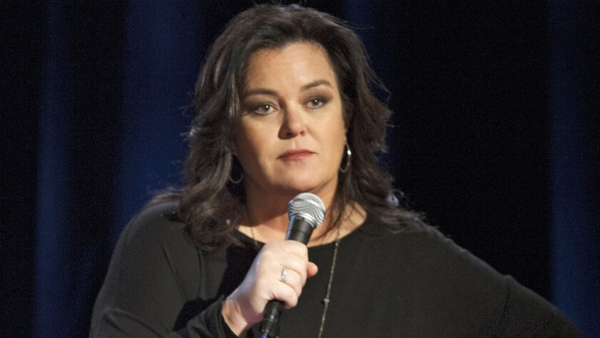 """Rosie O'Donnell, seen in """"A Heartfelt Stand Up,"""" her most recent HBO special, is facing a custody challenge from estranged wife Michelle Rounds."""