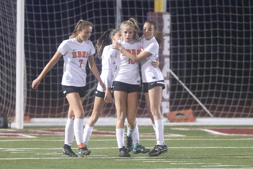 Photo Gallery: Laguna Beach vs. Huntington Beach in girls' soccer