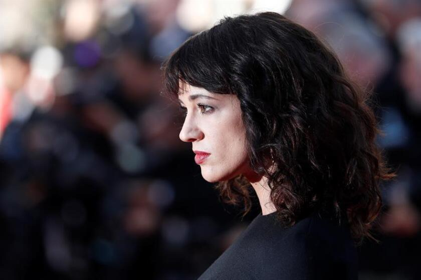Asia Argento arrives for the screening of 'The Man who Killed Dom Quixote' and Closing Awards Ceremony of the 71st annual Cannes Film Festival, in Cannes, France, 19 May 2018. EFE/EPA/FILE
