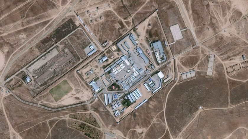 """DigitalGlobe satellite imagery shows the """"Salt Pit,"""" a CIA """"black site"""" prison and interrogation center in Afghanistan."""