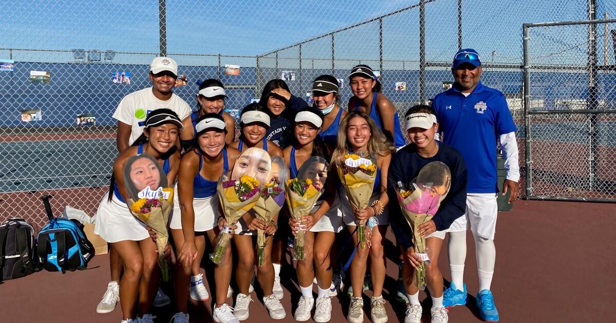 High School Roundup: Fountain Valley girls' tennis wins first league title since 1991