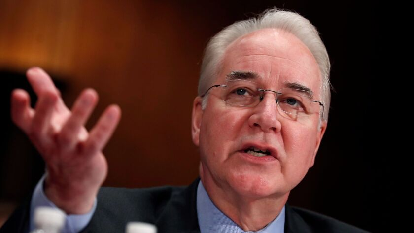Former Health and Human Services Secretary Tom Price may be gone, but the scorched earth he left behind on Obamacare is still smoking.