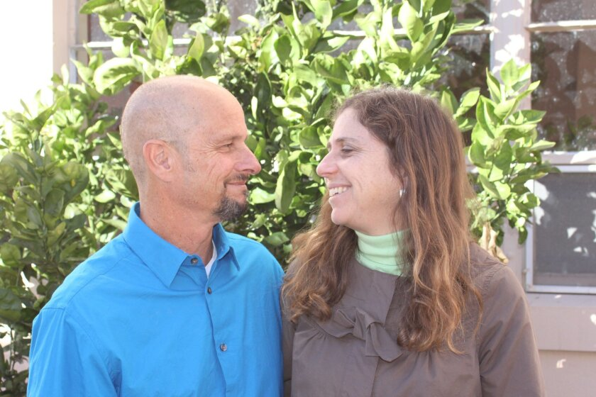 La Jolla High School science teachers Rachel and Howard Tenenbaum have been happily married for going on 33 years.