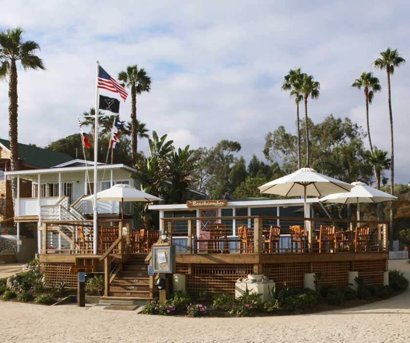 Beachcomber Cafe at Crystal Cove in Newport Beach.