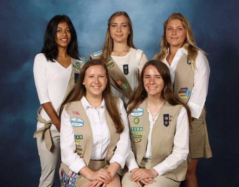 Carmel Valley Girl Scouts earn Gold Award - Del Mar Times