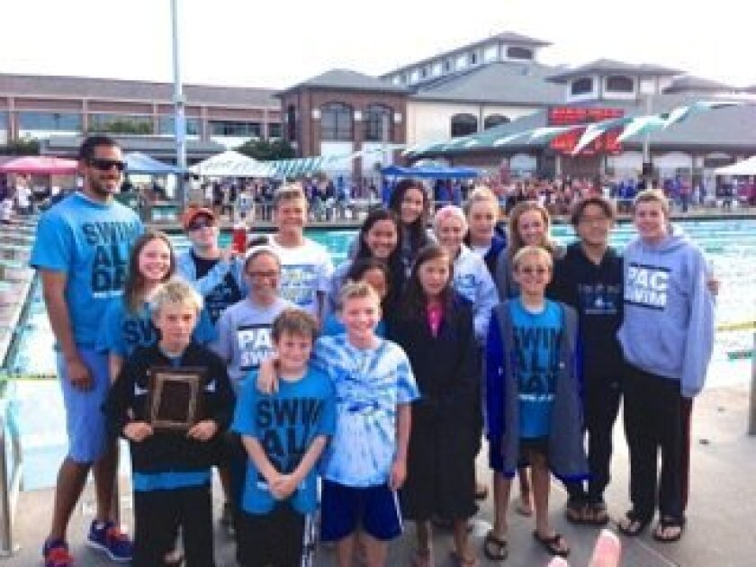 Pacific Athletic Club swimmers