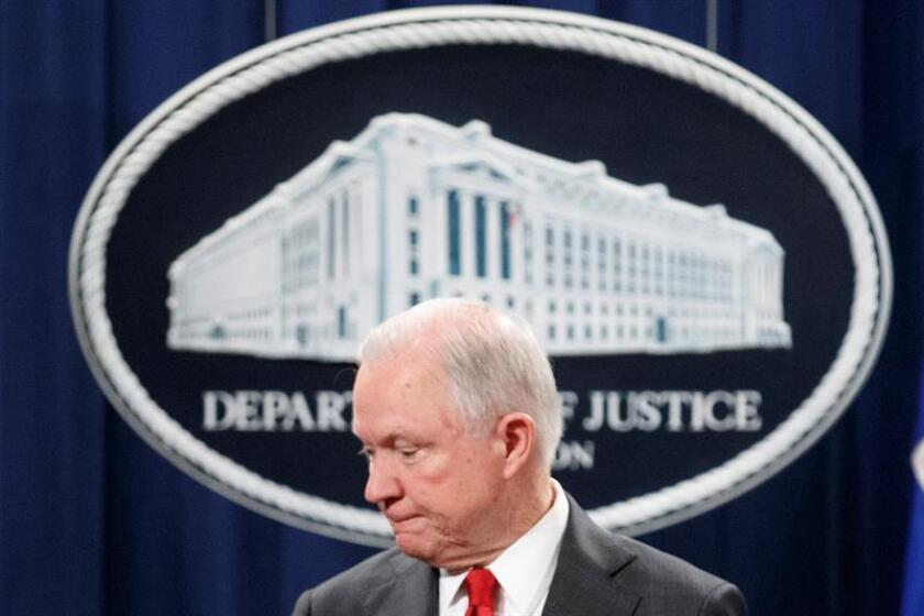 US Attorney General Jeff Sessions. EFE/EPA/FILE