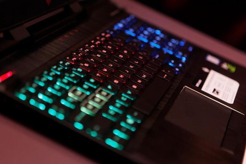 Vista de una computadora portátil. EFE/Archivo