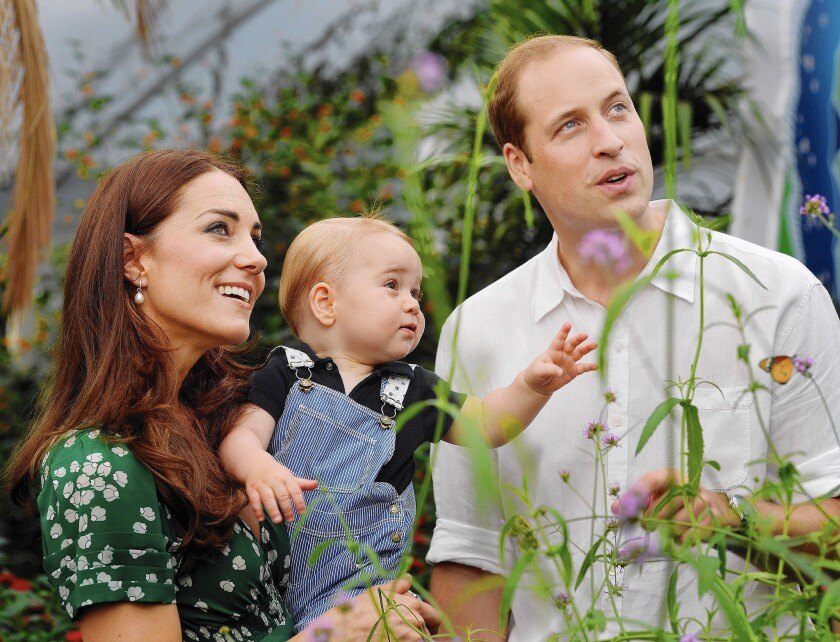 Duchess Catherine, with William and George, has hyperemesis gravidarum, a severe form of morning sickness.