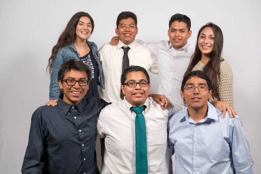 Casa de Amistad high school seniors received scholarships ranging from $1,000 to $3,000 to help cover the cost of college.