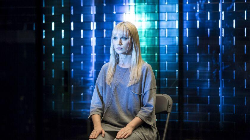"""Emily Berrington as Niska in """"Humans."""""""