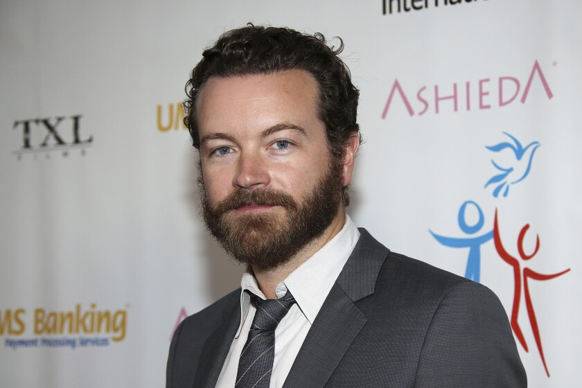 Actor Danny Masterson arrives at a benefit event in Los Angeles in 2014.