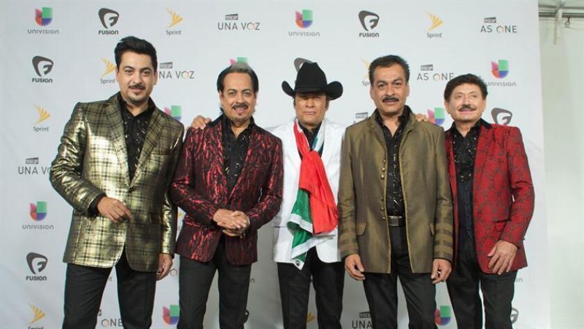 Fotografía del grupo musical mexicano Los Tigres del Norte. EFE/Archivo