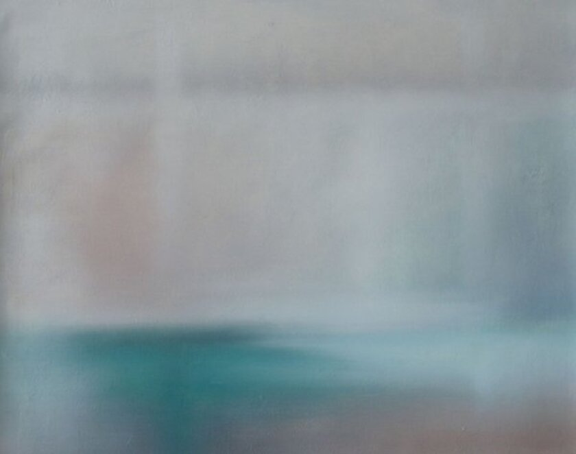 """A blurred image from Phil Thompson's """"Copyrights."""""""