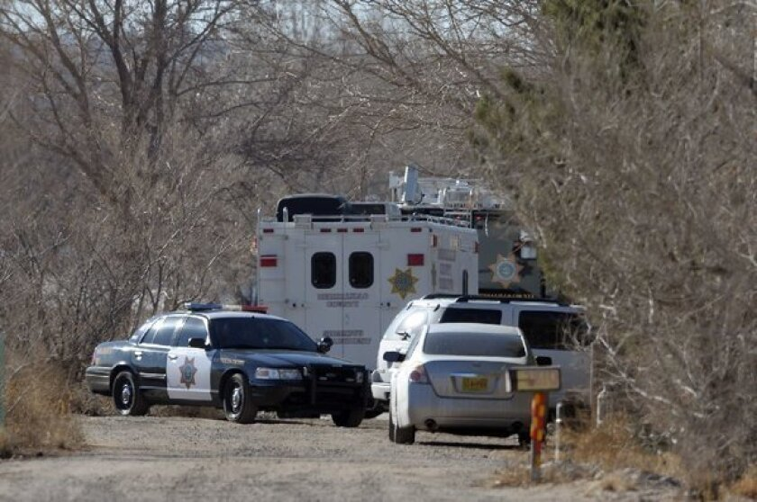 Authorities said a teenage boy fatally shot two adults and three children at a home in southwest Albuquerque.