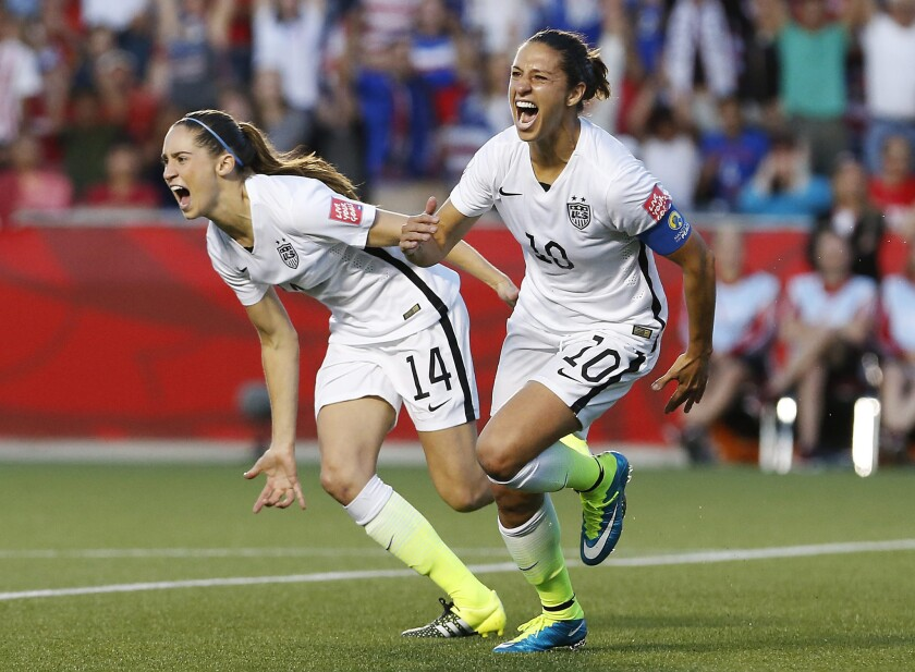 Morgan Brien, Carli Lloyd