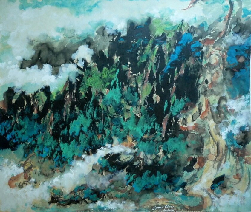 'La Jolla Cove' by Grace Chow.