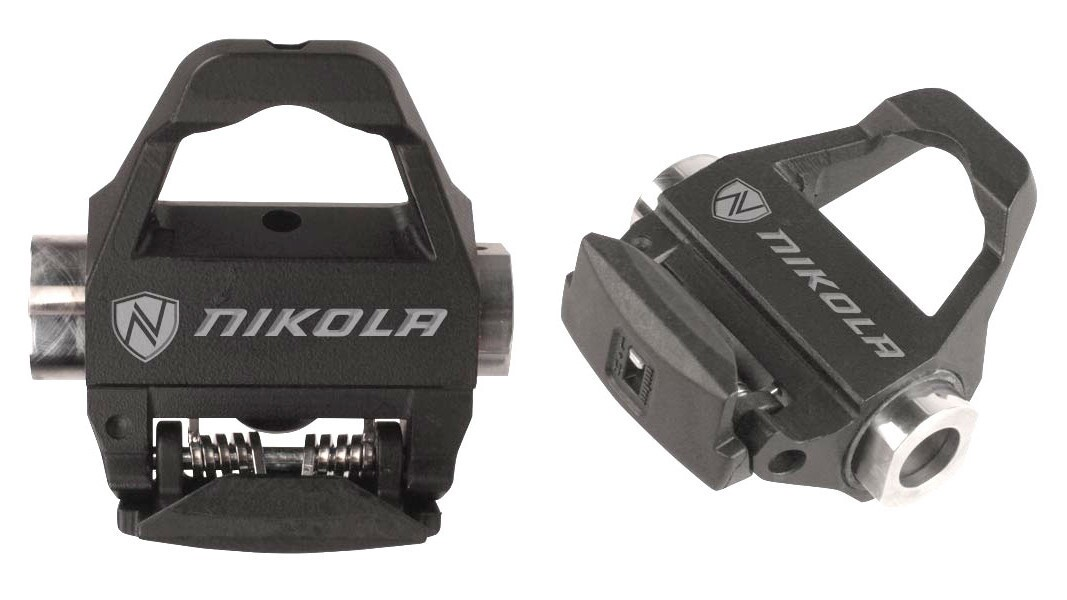 These pedals slide an inch sideways through the pedal stroke. The motion reflects Ohio inventor Nick Stevovich's attempt to create a more powerful and safer movement pattern that combines cycling with the joint ease of skating. Price: $339 for the 502-gram stainless steel model; $549 for the 370 g pair of titanium; nikolainnovation.com