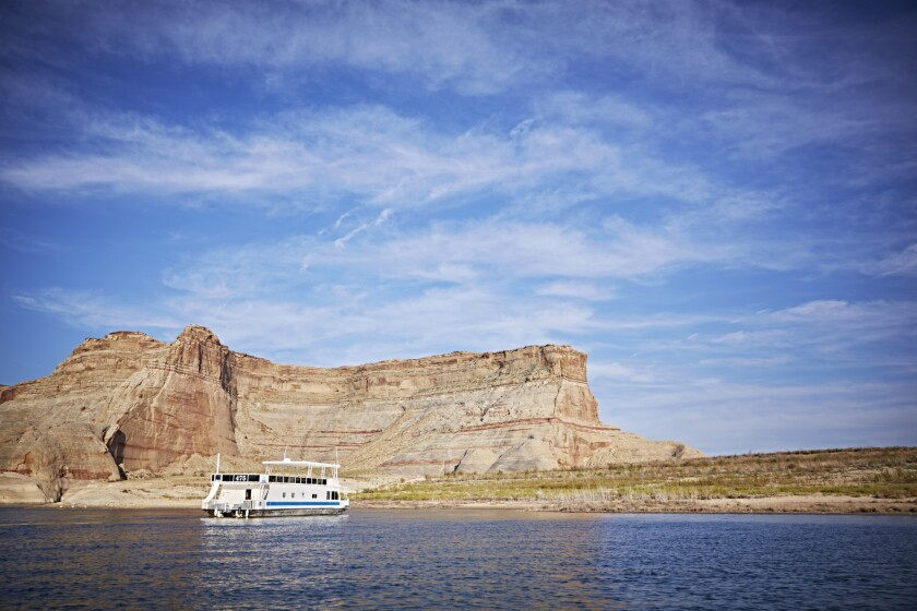 Have Lake Powell all to yourself on an off-season weekend trip