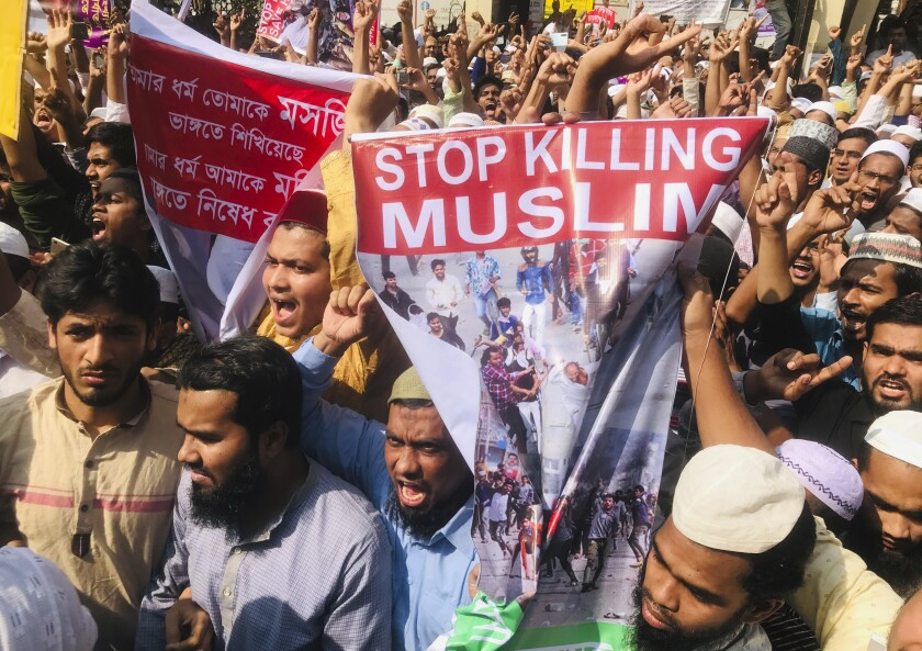 Bangladesh India Protest