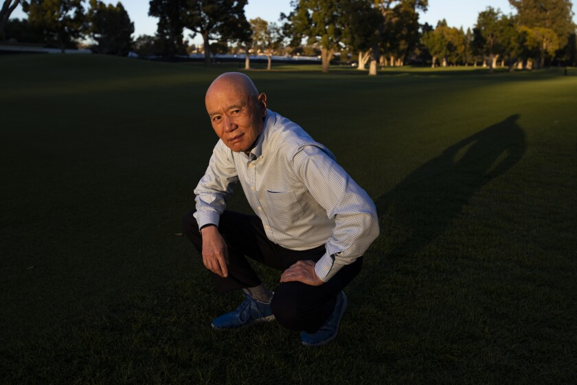 Michael Yamaki has been responsible for making Riviera Country Club into a world class golf course.