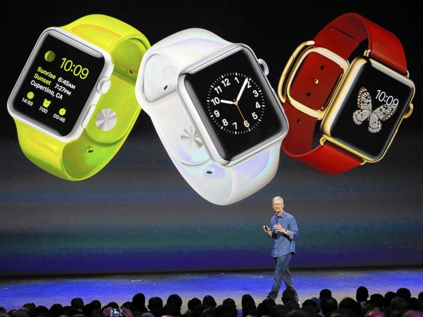 Although the Apple Watch won't be available until early next year and starts at $349, Apple hopes its smartwatch will excite consumers in a way that dozens of other smartwatches introduced this year alone have failed to do.